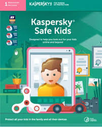 Picture of Kaspersky Safe Kids (1 Parent Account | 1 Year License)