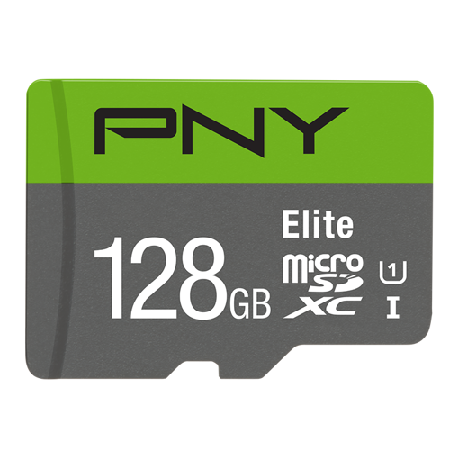 Picture of PNY 128GB Micro SD Memory Card CL-10