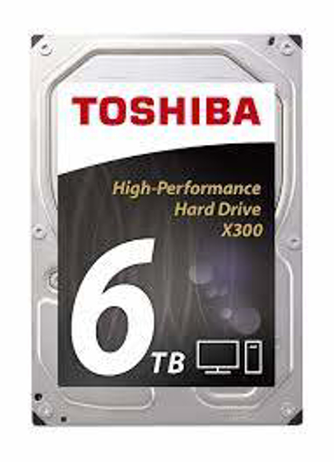 "Picture of Toshiba 6TB Internal Hard Drive 3.5"" Sata 7200rpm"