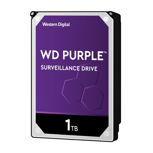"Picture of WD 3TB SURVEILLANCE HARD DRIVE (PURPLE) 3.5"" SATA"
