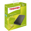 Picture of Toshiba 2TB External HDD Canvio Basic-Black