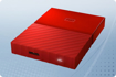 Picture of WD 1TB External HDD MY Passport New Red