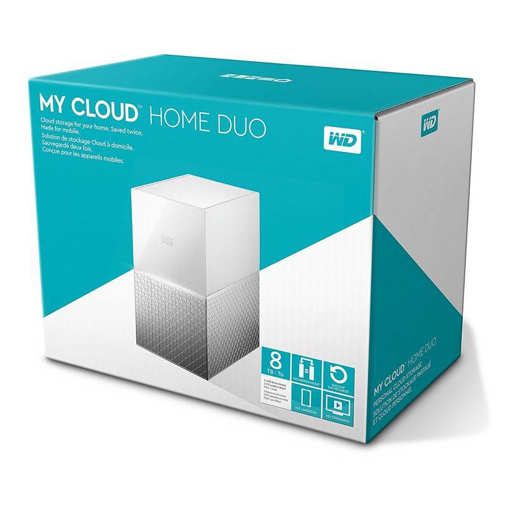 Picture of WD 4TB EXTERNAL HDD MY CLOUD NAS STORAGE 4TB, WHITE