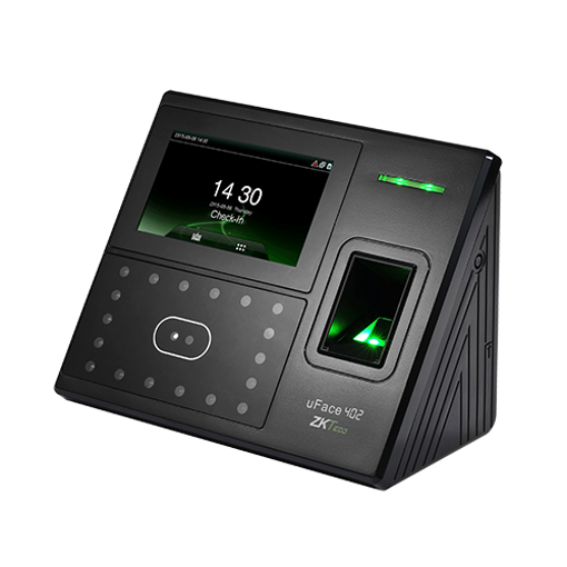 Picture of ZKTeco UFace 402 Multi-Biometric Time Attendance And Access Control Terminal