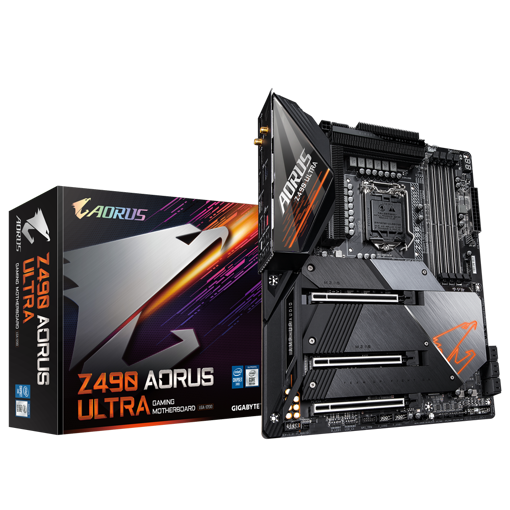 Picture of Gigabyte Z490 Aorus Ultra AMD ATX Gaming Motherboard