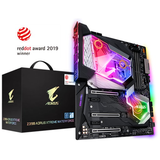 Picture of GIGABYTE Z390 AORUS XTREME WATERFORCE