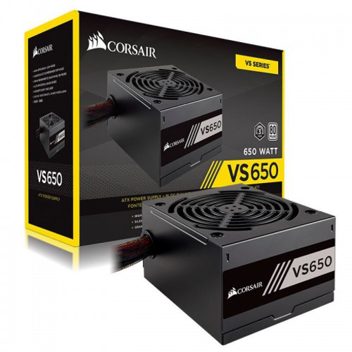 Picture of Corsair 650VS ATX/EPS 80 PLUS Power Supply