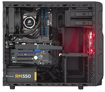 Picture of Corsair Carbide Series SPEC-03 Red LED & White Red Mid-Tower Gaming Case