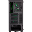 Picture of Corsair Carbide Series SPEC-DELTA RGB Tempered Glass Mid-Tower ATX Gaming Case — Black