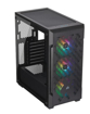 Picture of Corsair ICUE 220T RGB Airflow Tempered Glass Mid-Tower Smart Case — Black