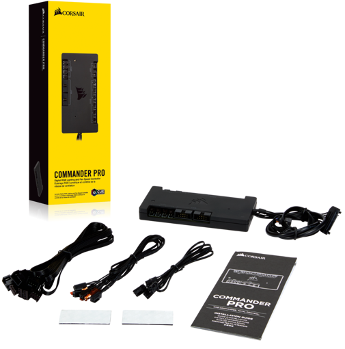 Picture of Corsair ICUE Commander PRO Smart RGB Lighting And Fan Speed Controller