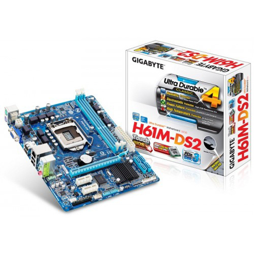 Picture of Gigabyte H61M-DS2 Motherboard