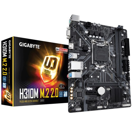 Picture of Gigabyte H310M M.2 9th Gen Micro ATX Motherboard