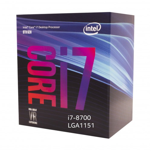 Picture of Intel Core I7-8700 Processor 12M Cache Up To 4.60 GHz