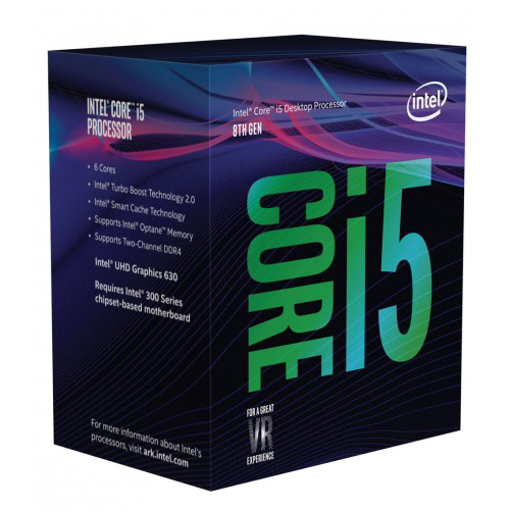 Picture of Intel® Core™ I5-8400 Processor 9M Cache, Up To 4.00 GHz