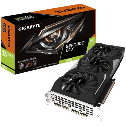 Picture of Gigabyte GeForce GTX 1660 Gaming OC 6GD