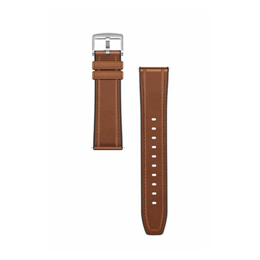 Picture of Huawei Watch GT2 Strap Leather Strap-Brown