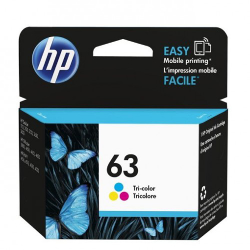 Picture of HP Cartridge 63-Color - F6U61AA ,DJ 1112, 165 Pages