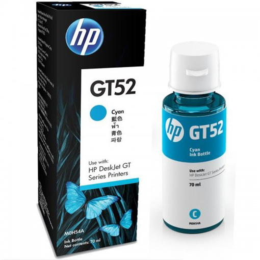 Picture of HP GT52 Cyan Original Ink Bottle (MOH54A)