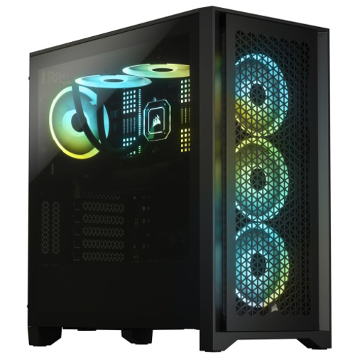 Picture of Corsair 4000D Airflow Tempered Glass Mid-Tower ATX Casing Black