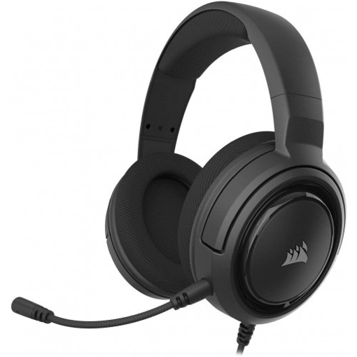 Picture of Corsair HS45 - Stereo Gaming Headset Carbon (AP)