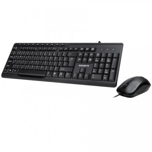 Picture of Gigabyte KM6300 Multimedia Keyboard & Mouse Combo