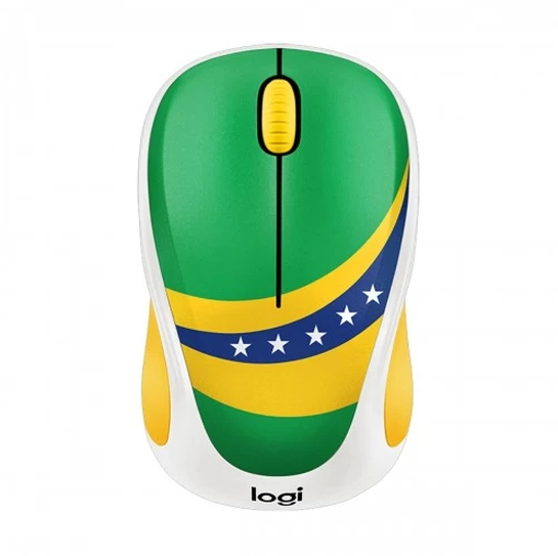Picture of LOGITECH M238 WIRELESS MOUSE WORLD CUP Brazil (910-005406)