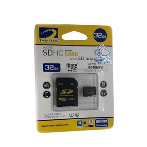 Picture of Twinmos 32GB CL 10 Micro Sd Card Life Time Warrenty