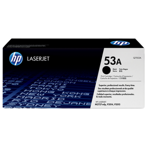 Picture of HP Toner 53A Black 3000 Page
