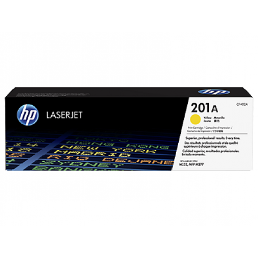 Picture of HP Toner 201A Yellow 1400 Pages