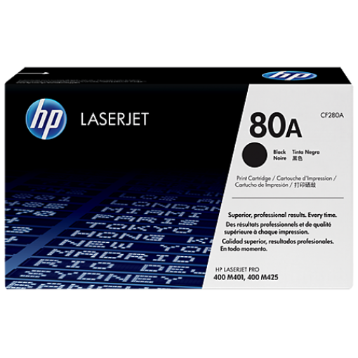 Picture of HP LJ M401N/D/DN Toner Black 80A 2700 Pages