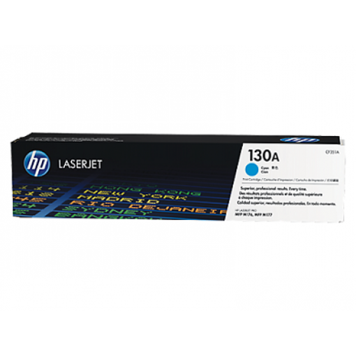 Picture of HP CLJ M177FW MFP Toner # 130A-Cyan 1000 Pages