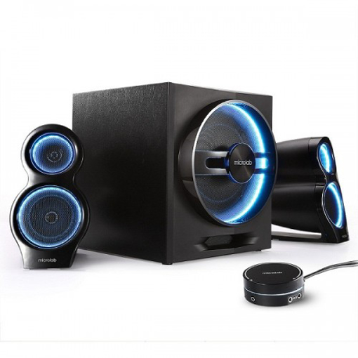 Picture of Microlab T10 2:1 Multimedia Bluetooth Speaker