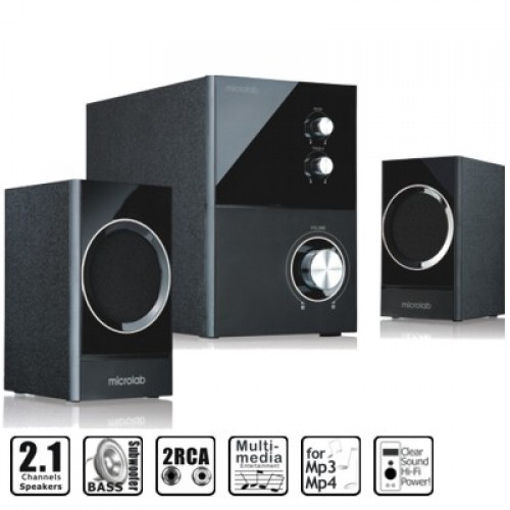 Picture of Microlab M223 2:1 Multimedia Speaker