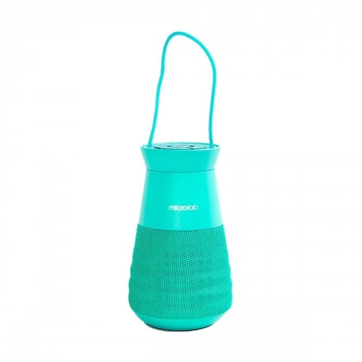 Picture of Microlab Lighthouse Green Portable Bluetooth Speaker