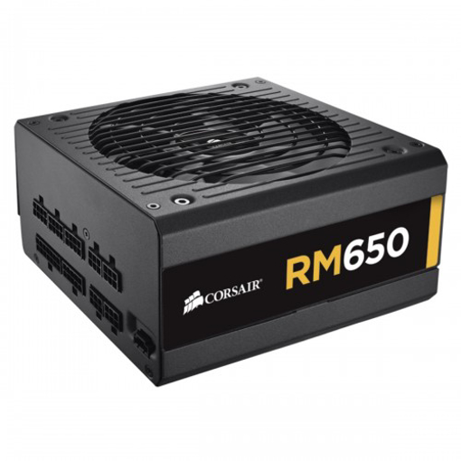 Picture of Corsair RM650 650Watt 80 Plus Gold Certified Fully Modular Power Supply