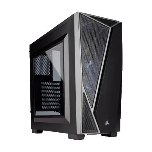 Picture of Corsair Carbide Series SPEC-04 Tempered Glass Mid-Tower Gaming Case — Black/Red