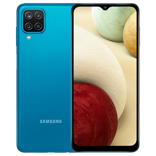 Picture of Samsung Galaxy A12 Smart Phone 4/64GB (Black/Blue)