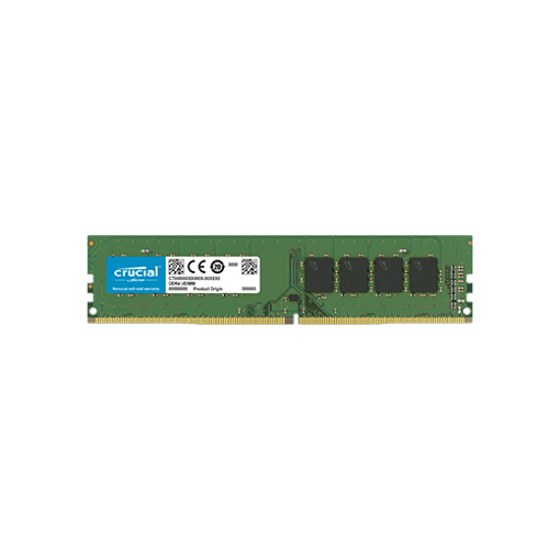 Picture of Crucial 16GB DDR4-2666 UDIMM Desktop Ram