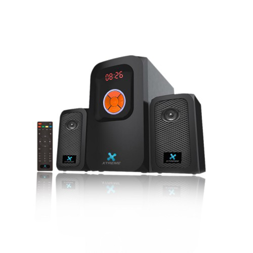 Picture of Xtreme E272BU Multimedia 2:1 Speaker With Remote