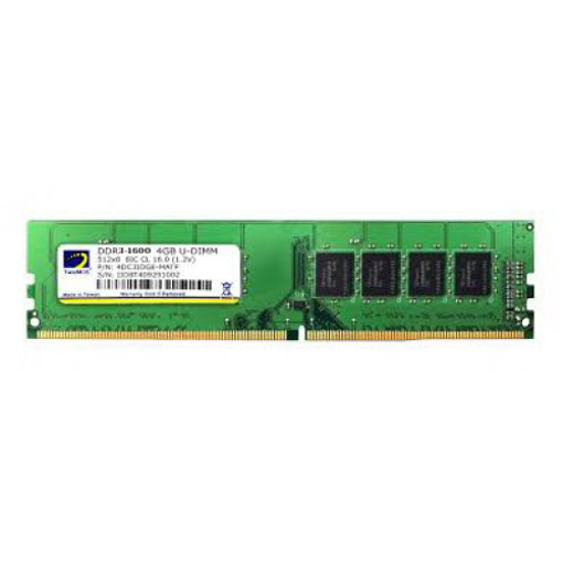 Picture of TwinMOS 4GB DDR3 1600MHz Ram