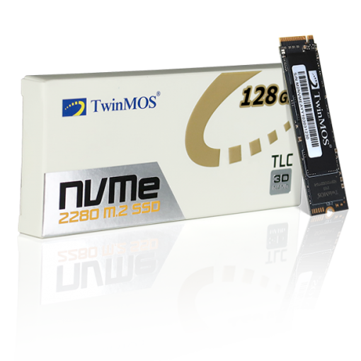 Picture of TwinMOS AlphaPro 128GB NVMe M.2 2280 SSD