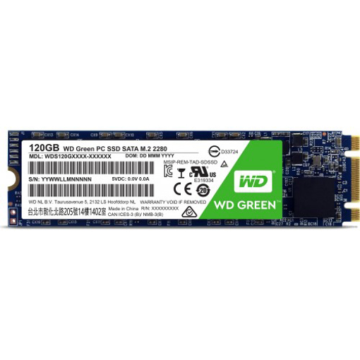 Picture of Western Digital 120GB M.2 SSD