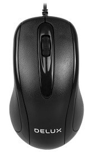 Picture of Delux M332BU Optical USB Mouse