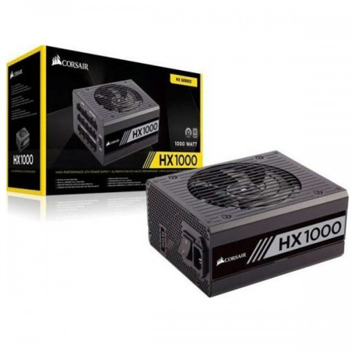 Picture of Corsair HX1000 80+ Platinum Certified Fully Modular Power Supply
