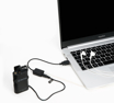 Picture of Boya EA2L 3.5mm Microphone to USB Adapter Cable with cord (1yr Warrenty)