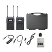 Picture of Boya BY-WM8 Pro-K1 UHF Dual Channel Wireless Microphone System (1 Transmitter and 1 Receiver)